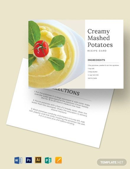 Standard Recipe Card Template Download 1 Cards In Adobe Illustrator Adobe Photoshop Microsoft Word Microsoft Publisher Apple Pages Recipe Cards Template Standard Recipe Card Recipe Cards