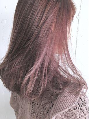 2019年春 インナーカラーの髪型 ヘアアレンジ 人気順