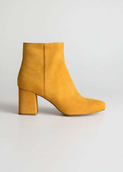 Ankle Boots Boots Outfit Yellow Ankle Boots Boots