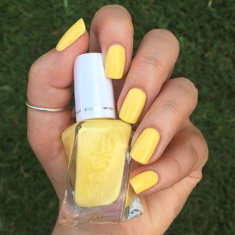 -   # - #yellownails