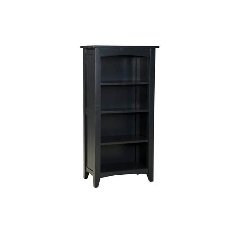 Storage Cabinet With 4 Shelves Home Organizer Glass Doors Wood Cherry Finish