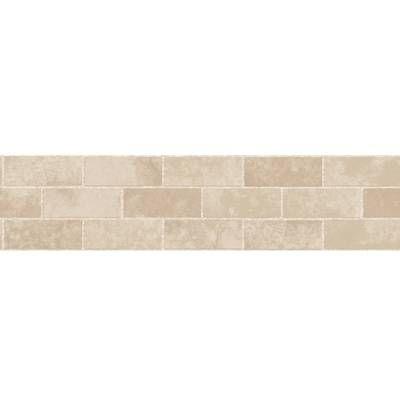 12 X 12 Pvc Peel Stick Mosaic Tile In Brown Stone Tiles Wallpaper Border Kitchen Peel And Stick Wallpaper
