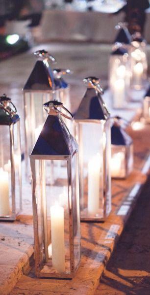 candle lanterns....