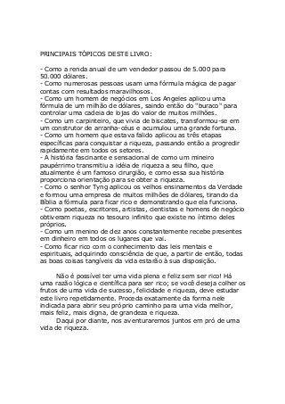 DE MANEIRAS ENRIQUECER 1001 BAIXAR O LIVRO