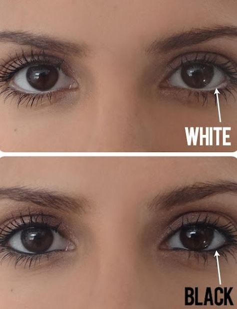 10 Makeup Tips Nobody Told You About White Eyeliner Makeup Tips Beauty Secrets