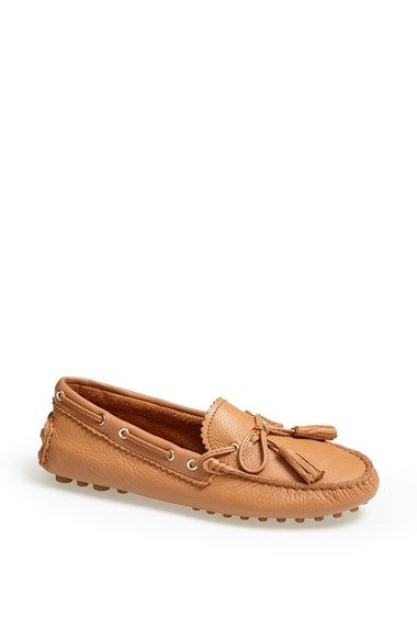 23138fb0e65 Total mom shoes but i want them so bad. COACH  Nadia  Leather Driving Loafer  available at  Nordstrom