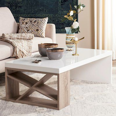 Brayden Studio Drewry Coffee Table Coffee Table With Storage Furniture Contemporary Coffee Table