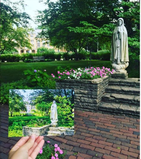 Pretty as a Postcard at Saint Mary's College, Notre Dame, Ind.