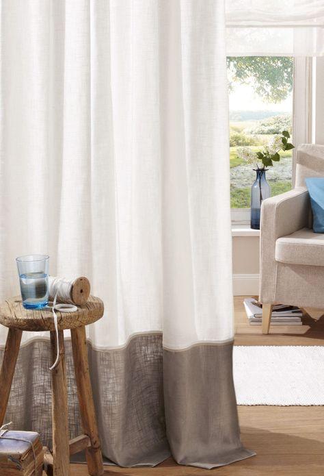 Vorhang Gabi Home Affaire Krauselband 1 Stuck Cotton Made