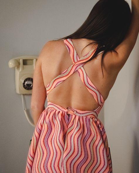 Hiba Hourani Design Fashion Backless Dress Dresses