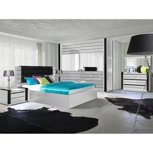 Cdiscount Com Meuble Chambre A Coucher Chambre A Coucher Noir Et Blanc Mobilier De Salon