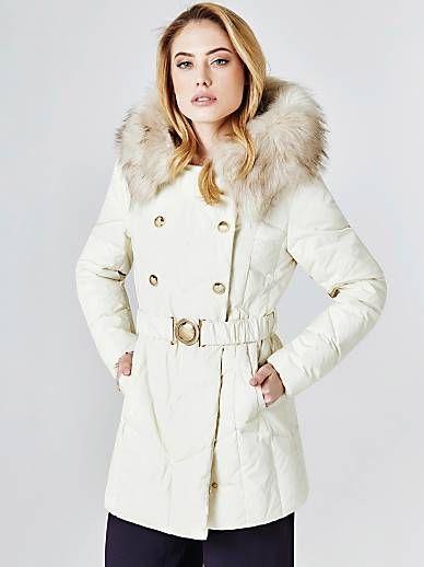 online retailer 23108 4c8fc PIUMINO MARCIANO BOTTONI | GUESS.eu | Coat | Piumini e Bottoni
