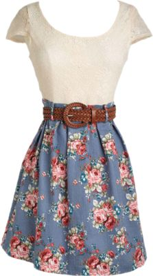 Spring Dress From Delias