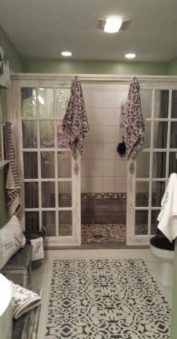 Farmhouse French Doors Master Bedrooms 36 Ideas For 2019 Old French Doors French Doors Interior Bathroom Interior Design