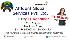 Affluent Global Services Immediate Hiring For Bi Expert Senior