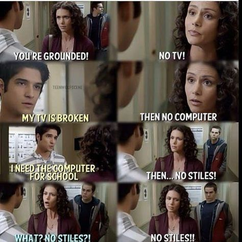 No Stiles?😂😀❤ discovered by Edina on We Heart It - teen wolf, stiles, and tyler posey image - Stiles Teen Wolf, Teen Wolf Scott, Teen Wolf Boys, Teen Wolf Dylan, Teen Wolf Allison, Teen Wolf Memes, Teen Wolf Tumblr, Teen Wolf Quotes, Jokes