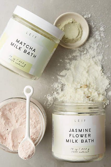 our milk baths now available @ anthropologie!