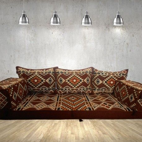 Add An Element And Mystic To Your Home With This Unique Kilim Patterned Floor Sofa Floor Couch Floor Sofa Couch Sofa Couch Couch Cushions