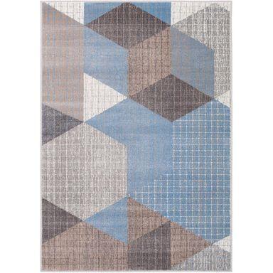 Dywan Saurus Lazurowy 160 X 230 Cm Wys Runa 7 Mm Inspire Dywany Wewnetrzne W Atrakcyjnej Cenie W Sklepach Leroy Merlin Carpet Quilts Rugs