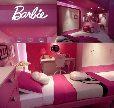 Barbie ♥   BARBIE ♡♥   Camere da sogno, Idee camera da ...
