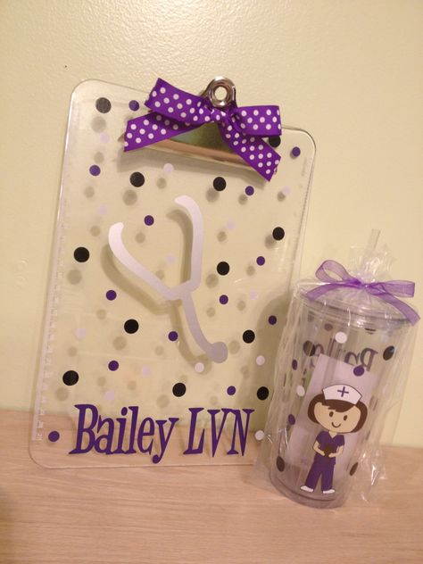 Gift set Now in 20 oz size  Personalized with name by DeLaDesign, $28.00