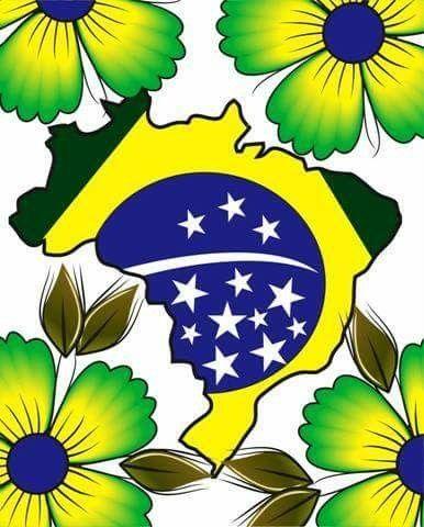 Minha Patria Parabens Brasil 7 De Setembro 2018 Bandeira Do