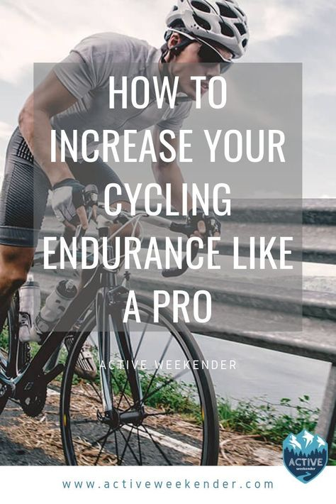 No matter why you want to build your cycling endurance, whether it's to keep up with friends on weekend rides … Cycling News, Road Cycling, Cycling Bikes, Cycling Art, Cycling Jerseys, Cycling Motivation, Cycling Quotes, Motivation Wall, Fitness Motivation
