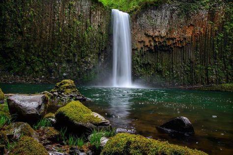Calm Waterfall-Tropical & Beach-Eazywallz