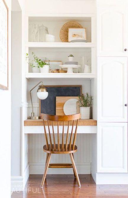 Diy Desk Nook Storage 70 Best Ideas Modern Farmhouse Kitchens Desk Nook Home Decor Kitchen