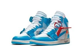 Here Are Official Images Of The Virgil Abloh X Air Jordan 1 Unc