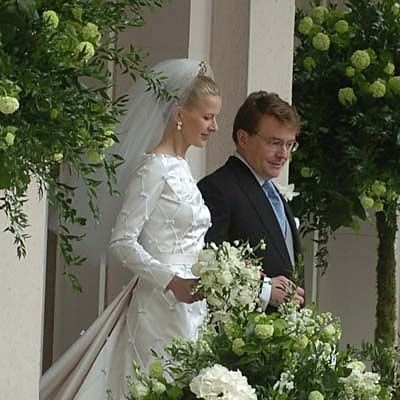 Huwelijk van Prins Johan Friso en  Mabel Wisse Smit 2004
