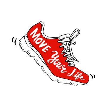 49++ Cartoon running shoes clipart information