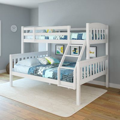 Corliving Apollo Twin Over Full Bunk Bed Reviews Wayfair Ca Kid Beds Full Bunk Beds Kids Bunk Beds