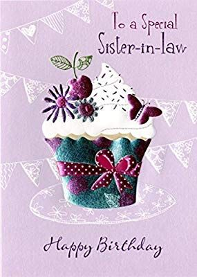 Special Sister In Law Birthday Greeting Card Second Nature Daydreams Cards Amazon Co Uk Sister In Law Birthday Birthday Wishes For Sister Sister Birthday Card