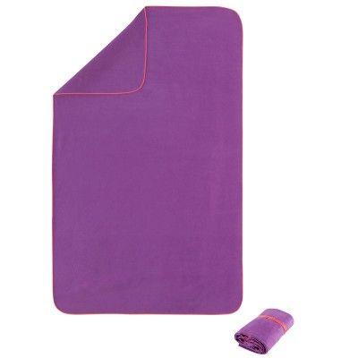 526e605a1d XL-es méretű, 110x175 cm-es, mikroszálas, kis helyigényű lila törölköző