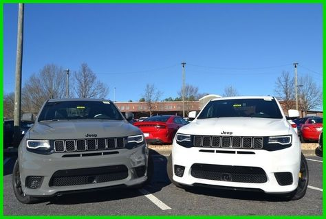 2019 Jeep Grand Cherokee Trackhawk Sting Gray Or White Save Big