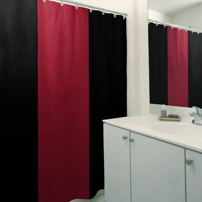 East Urban Home Single Shower Curtain In 2020 Colorful Curtains Curtains Home