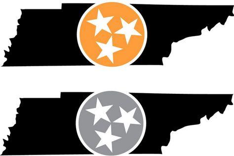 State Outline Tri Star Via Newmarketmauler Tennessee Outline State Outline Tri Star