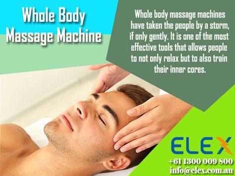 28 best Elex – Your massage chair specialist in Australia images on  Pinterest | Massage chair, Medicine and Muscle