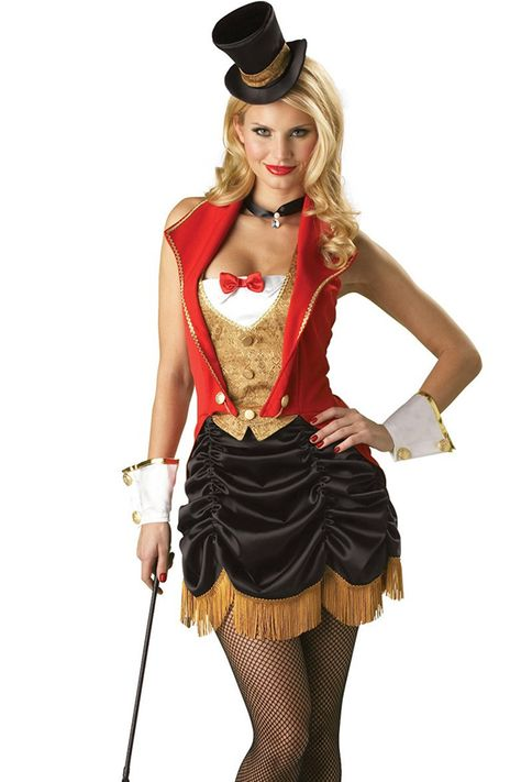 Red Old-Fashioned Magician Halloween Circus Costume on sale at reasonable  prices f651c63c7c73