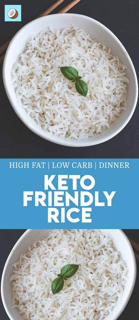 is rice ok on a ketogenic diet