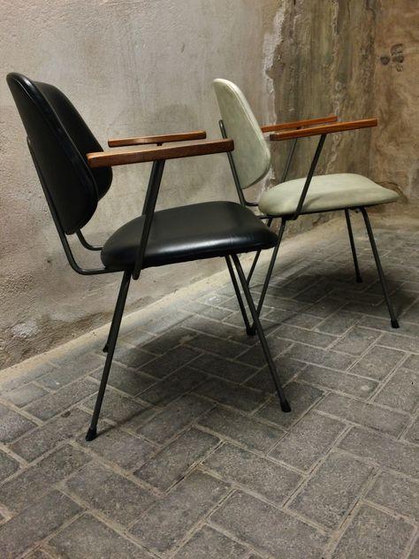 Dutch Design Stoelen Gispen.Kembo W H Gispen Dutch Design Fauteuils Cafe Interieur