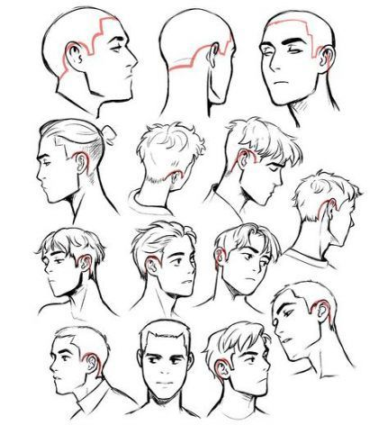 Best Drawing Cartoon Tutorial Hair Reference Ideas In 2020 Cartoon Tutorial Cartoon Drawings Hair Reference