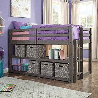 8c3f974cc73da1534351467fee0587d3 - Better Homes & Gardens Loft Bed With Spacious Storage Shelves