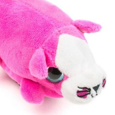 Wet Brush Detangler Plush Kitten Hair Brush Pink Hair Brush