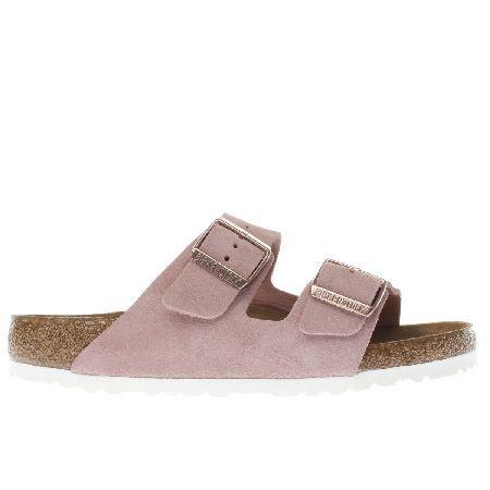 Birkenstock pale pink arizona soft footbed suede #A fresh