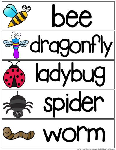Bug Activities Planning Playtime Preschool Insects Activities Bug Activities Preschool Bugs Crafts Bug insect lesson plans preschool