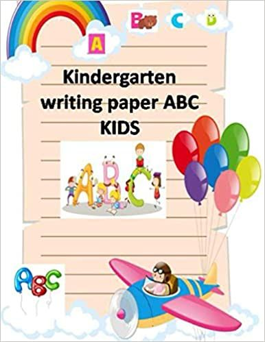 ورق كتابة لرياض الأطفال Abc Kids ورق ممارسة للكتابة اليدوية بخطوط منقطة 122 فارغ ا المنزل البق Kindergarten Writing Paper Kindergarten Writing Abc For Kids