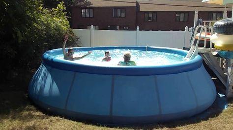 66 year old grandma makes wave pool!
