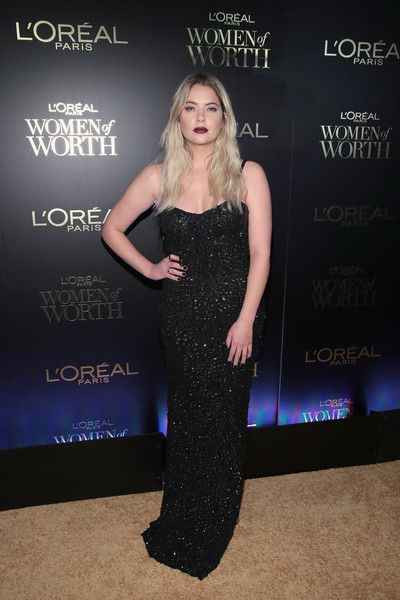Ashley Benson attends the L'Oreal Paris Women of Worth Celebration 2017.